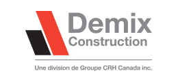 Demix Construction Logo