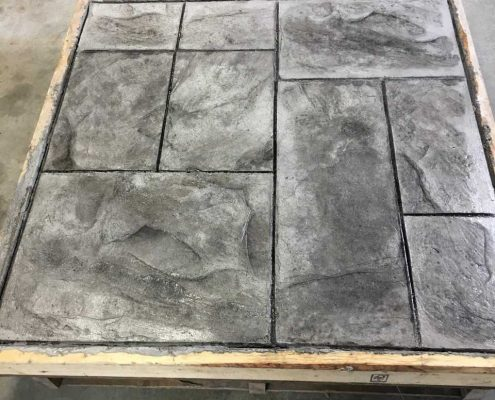 Dufferin Concrete Stamped Concrete Sample Panel