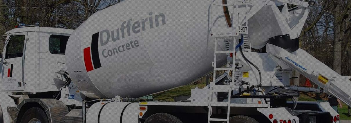 Dufferin Concrete Readymix Truck